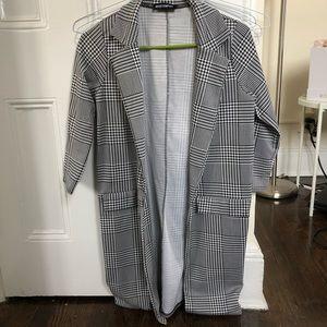 Tops - Houndstooth blazer